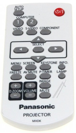 Panasonic MXDK afstandsbediening