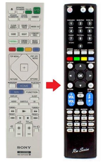 Alternatieve Sony RM-ADP120W afstandsbediening