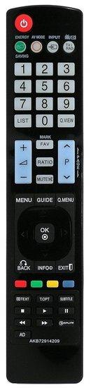 LG AKB72914209 afstandsbediening