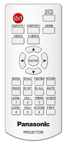 Panasonic N2QAYA000071 afstandsbediening