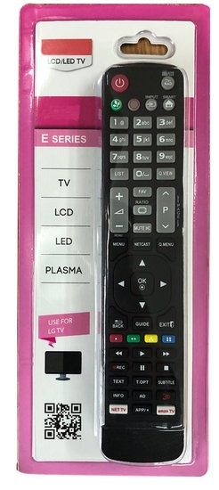 Afstandbediening geschikt voor alle LG TV's