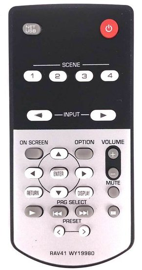 Yamaha RAV41 WY19980 afstandsbediening