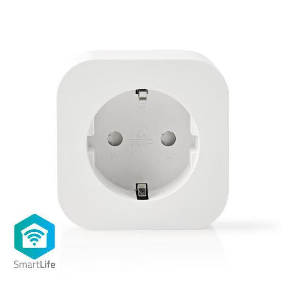 Smart Plug - Google Home en Alexa geschikt- 1 stuk - Slimme stekker - Nedis