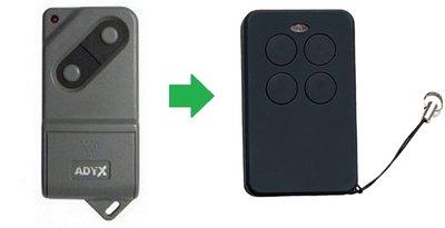 ADYX ALIZE EM4C handzender / afstandsbediening