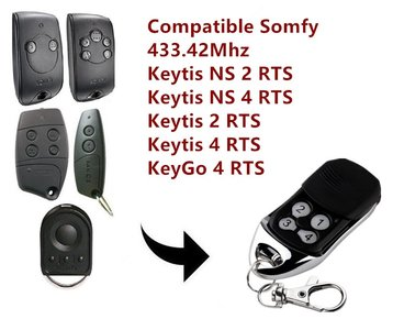 Somfy Handzender / afstandsbediening voor de Keytis NS 2 RTS en Keytis NS 4 RTS