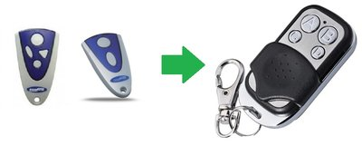 Novoferm MAX43-2 en MAX43-4 handzender / afstandsbediening