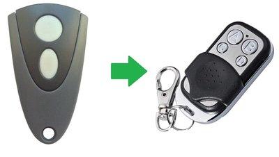 Novoferm NOVOTRON 512 MIX43-2 handzender / afstandsbediening