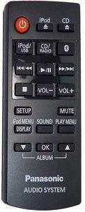 Panasonic N2QAYC000081 afstandsbediening