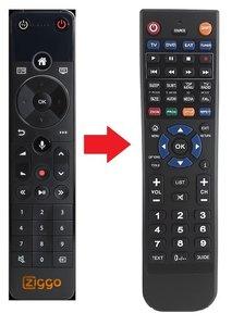 Ziggo Mediabox Next afstandsbediening (vervanger)