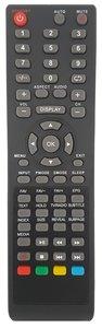 TVE LCD1515DVD afstandsbediening