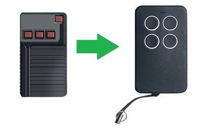 Aeterna TX433 4 knoppen (alternatieve handzender)