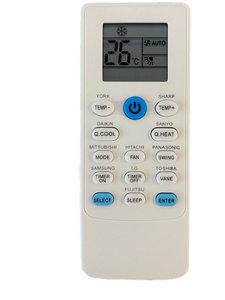 LG airco afstandsbediening