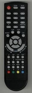 Q-Media Q19HH-07B afstandsbediening