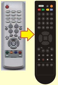 Samsung DCB-9401R afstandsbediening