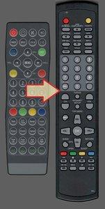 Sundream S2203-HD mirror tv afstandsbediening
