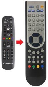 Vodafone interactieve afstandsbediening