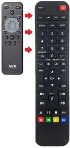 AEG BSS4806 afstandsbediening