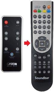 Canton DM9 / DM50 / DM55 DM75 / DM100 afstandsbediening
