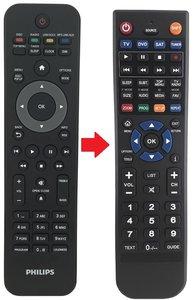 Alternatieve Philips 996510043818 afstandsbediening