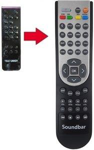 Telefunken TI5 afstandsbediening