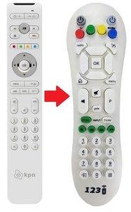 KPN / Telfort interactieve TV afstandsbediening