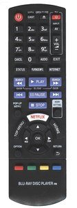 Alternatieve Panasonic N2QAYB000876 afstandsbediening
