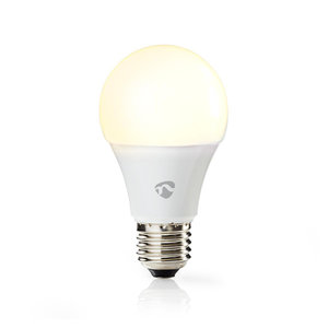 Wi-Fi smart LED-lamp   Warm WIT  WHITE  E27   A60   DIMBAAR   800 LUMEN