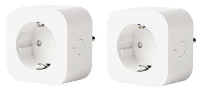 Smart Plug - Google Home en Alexa geschikt- Set van 2 stuks - Slimme stekker - Nedis