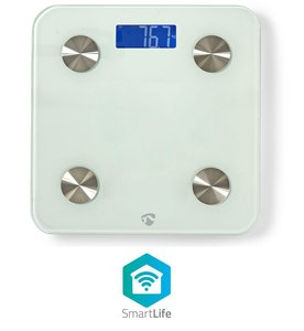 Wi-Fi smart personenweegschaal | BMI, Vet-, Water-, Bot-, Spieren-, Eiwitgehalte | Gehard Glas | 8 Personen | Slimme weegschaal | met applicatie