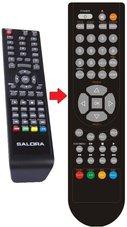 Salora-19LED2605D-afstandsbediening