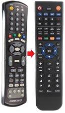Homecast-receiver-afstandsbediening